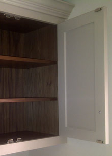 Wardrobes and Kitchen cupboards professionally sprayed